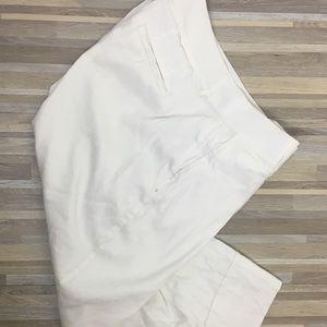Lane Bryant white Capri pants size (16)